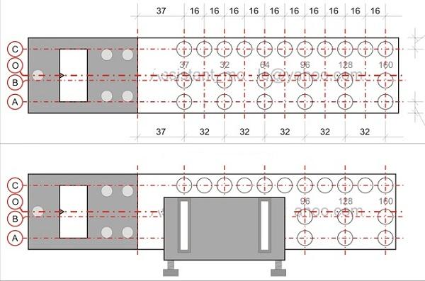 gabarit de percage. Black Bedroom Furniture Sets. Home Design Ideas